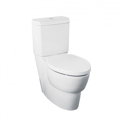 K-17737MY-NS-0 KOHLER OVE 3/6L DUAL FLUSH TWO-PIECE TOILET w/o SEAT or S-TRAP CONNECTOR