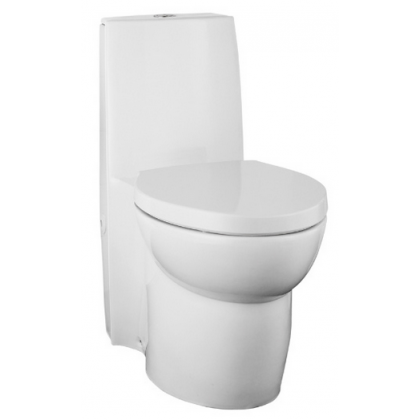 K-3564T-BSP-0 KOHLER SAILE S-TRAP ONE-PIECE TOILET w QUIET-CLOSE SEAT