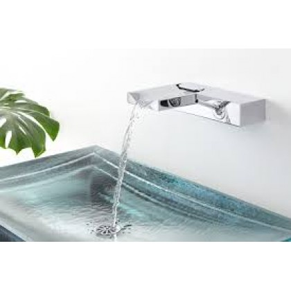 K-99876T-4-CP BEITOU Wall-Mount Lavatory Faucet