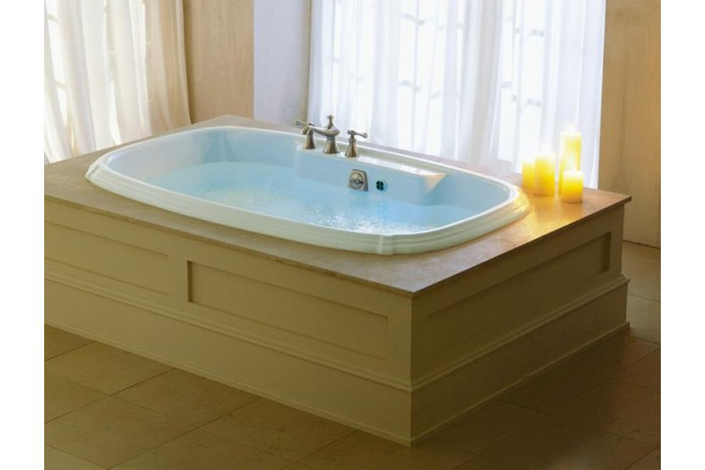 K-1457T-G-0 KOHLER PORTRAIT DROP-IN ACRYLIC WHIRLPOOL